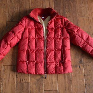 Tommy Jeans US Ski Team Women's Red Puffer Jacket